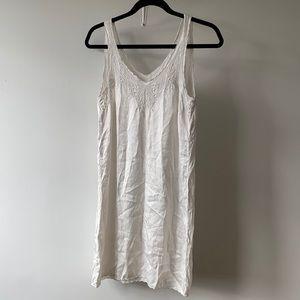 100% Silk Dress/ Slip